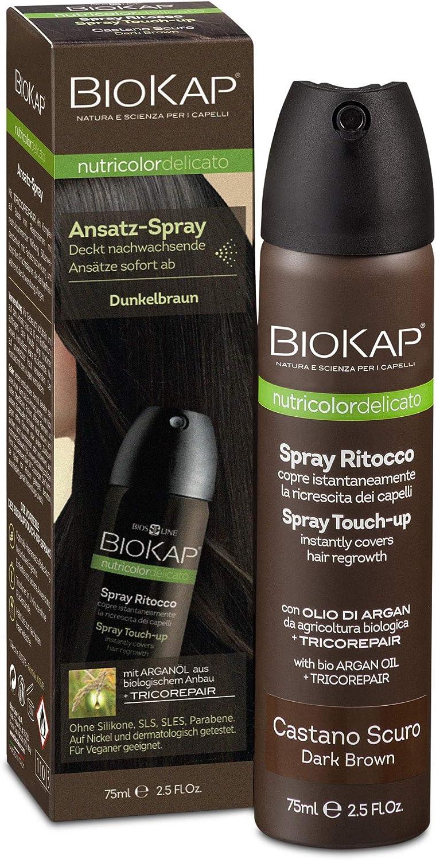 Spray para retoques raíces castaño oscuro