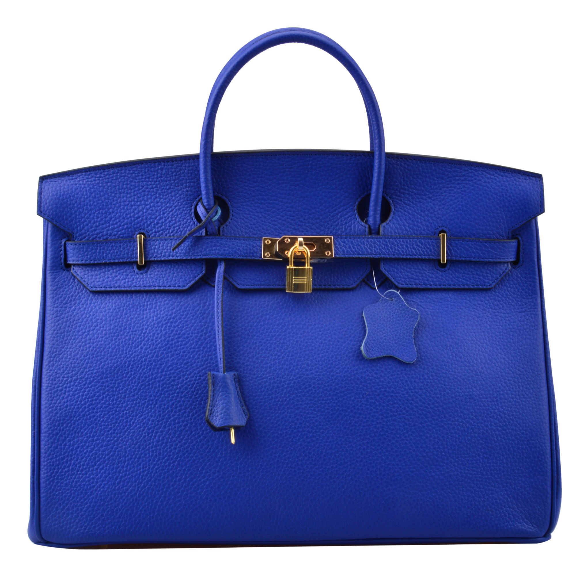 ea2e6f1939 Galleon - Ainifeel 40cm Oversized Padlock Business Handbags Office Handbags  (40cm(golden Hardware)