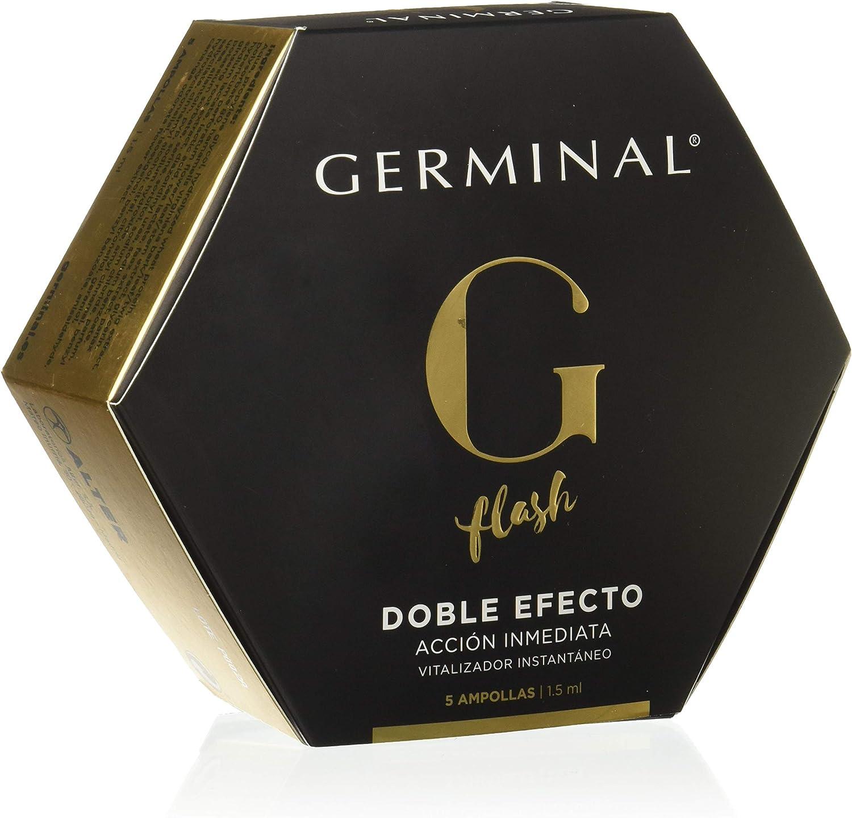 Germinal - Acción Inmediata Doble Efecto Flash, 5 unid x 1.5ml