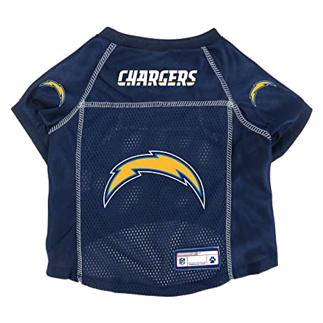 bcf1e584c68 Image Unavailable. Image not available for. Color: NFL Los Angeles Chargers  Pet Jersey ...