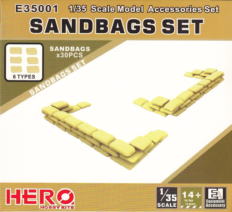 ヒーローホビーキッツ 1/35 サンドバッグセット 30個 プラモデル HHKE35001 B01GOAUG3K