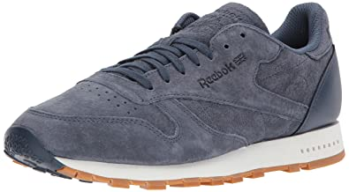 0701ec2c8959da Reebok Cl Leather Sg Sneaker Smoky Indigo Chalk-Gum 7.5 D(M) US  Buy Online  at Low Prices in India - Amazon.in