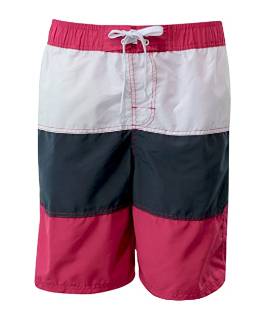 0303083f1c Cargo Bay Mens 3 Panel Polyester Swim/Board Shorts Summer Holiday Beach
