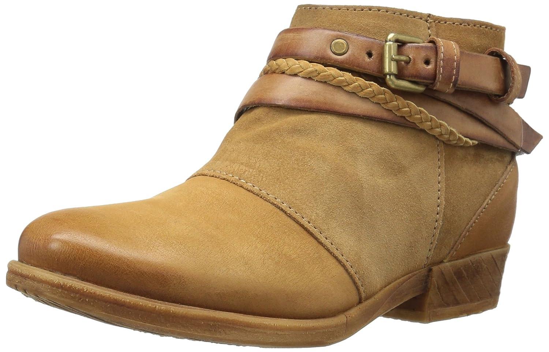 Miz Mooz Women's Danita Ankle Bootie B01KU6EJQY 38 M EU (7.5 US)|Wheat