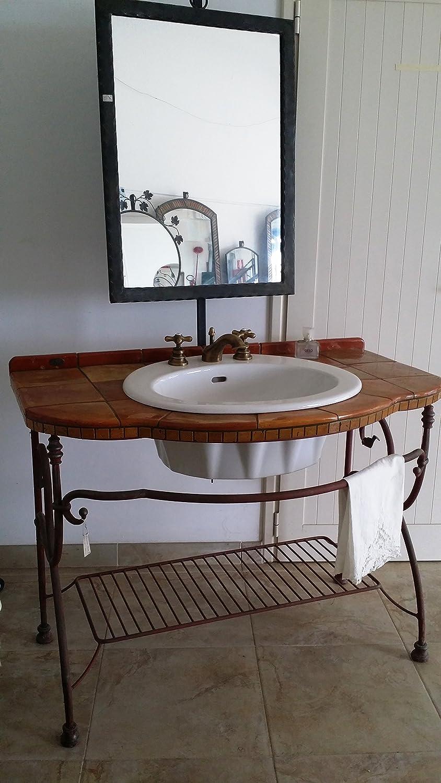 Design mobili bagno ferro battuto galleria foto delle - Bagno ferro battuto ...