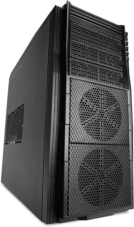 NZXT Tempest 410 Midi-Tower Negro Carcasa de Ordenador - Caja de ...