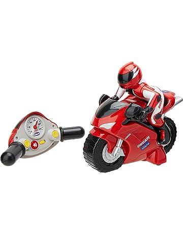Chicco - Motocicleta radiocontrol Ducati 1198, con mando intuitivo y sonidos
