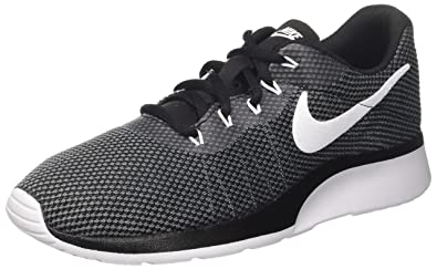 38e9e37d835a NIKE Mens Tanjun Racer Dark Grey White Black Size 7