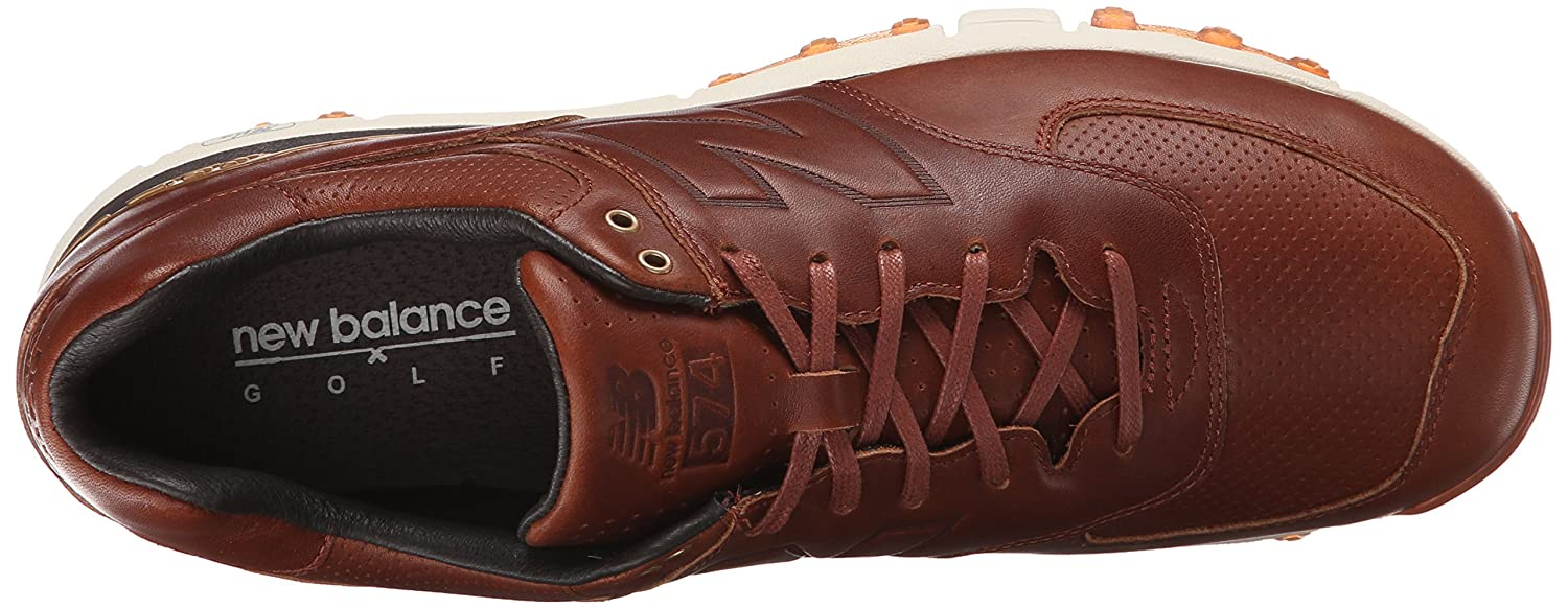 new balance 574 lx golf shoes brown