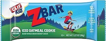 10. Clif Bar Organic Energy Bar – Iced Oatmeal Cookie (18 Count)