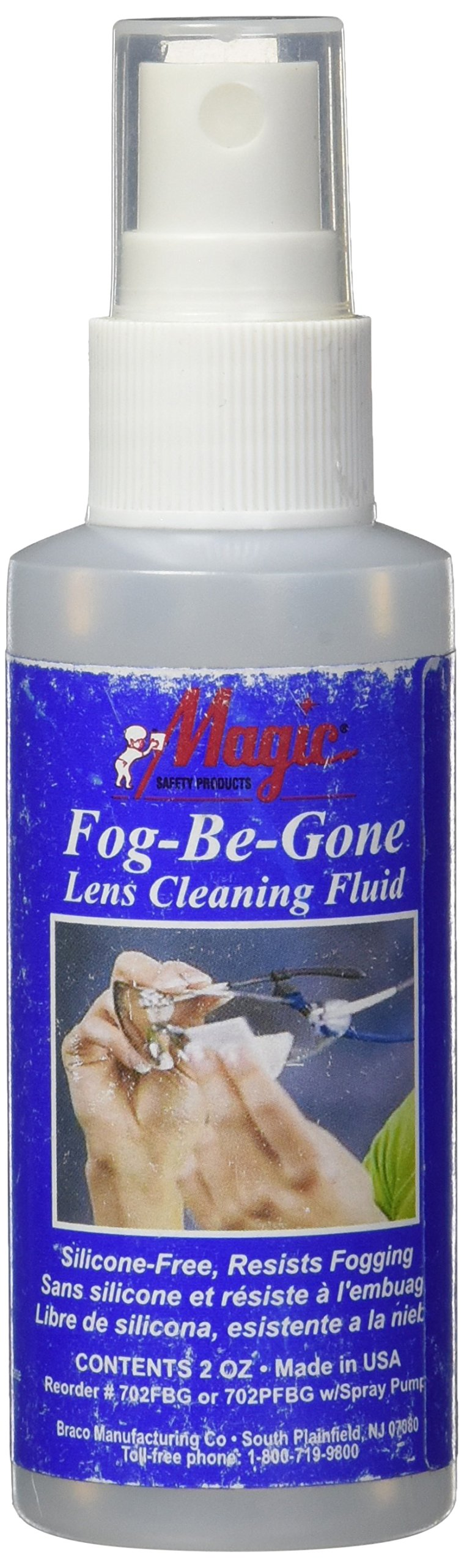 Magic Lens Cleaning Solutions, Fog-Be-Gone