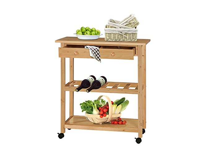 Outdoor Küchenwagen : Loft dagda küchenwagen servierwagen küchentrolley rollwagen