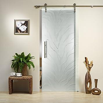 Puerta Corredera de Cristal ST 799 – 900 x 2050 x 8 mm DIN derecha ...