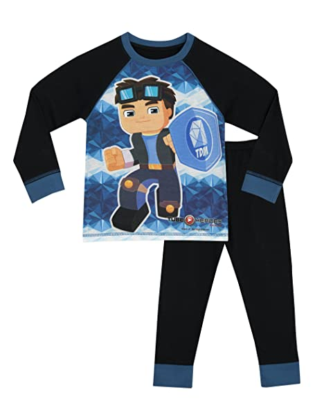 Tube Heroes - Pijama para Niños - Dan TDM - 5 - 6 Años