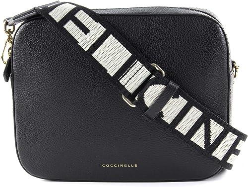 COCCINELLE Mini Bag Small Clutch Clutch Tasche Noir Schwarz