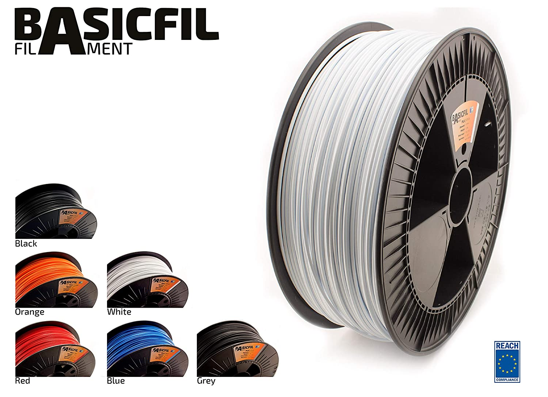 BASICFIL PLA 2.85mm, 2.3 kg filamento de impresión 3D, Señal ...