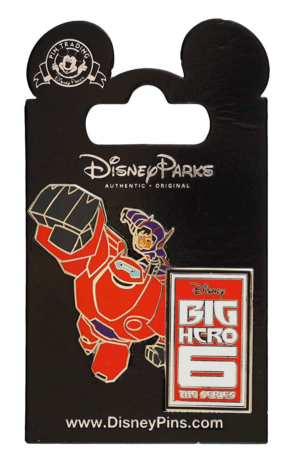Disney Pin - Big Hero 6 - The Series - Armored Hiro and Baymax