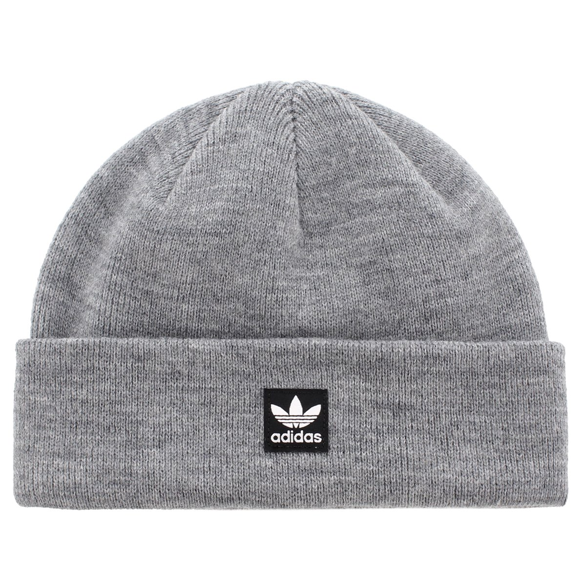 Adidas Mens Originals Starboard Knit Beanie, Heather Grey, One Size