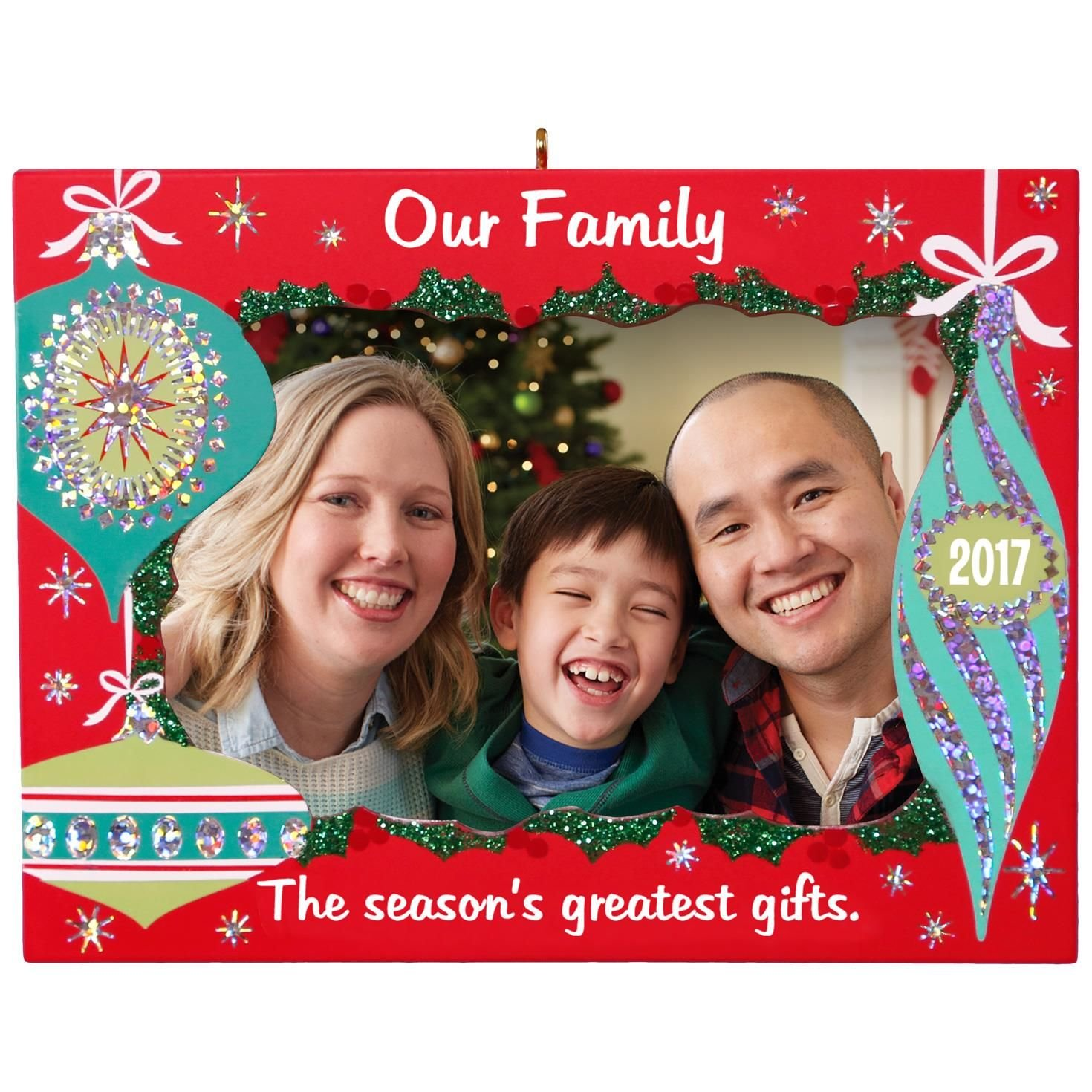 Hallmark Keepsake 2017 Our Family Greatest Gifts Picture Frame Dated ...