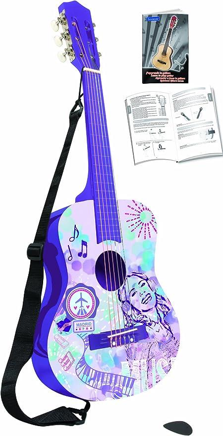 Violetta Guitara Clásica De 6 Cuerdas, Multicolor (Lexibook K2000VI): Amazon.es: Juguetes y juegos