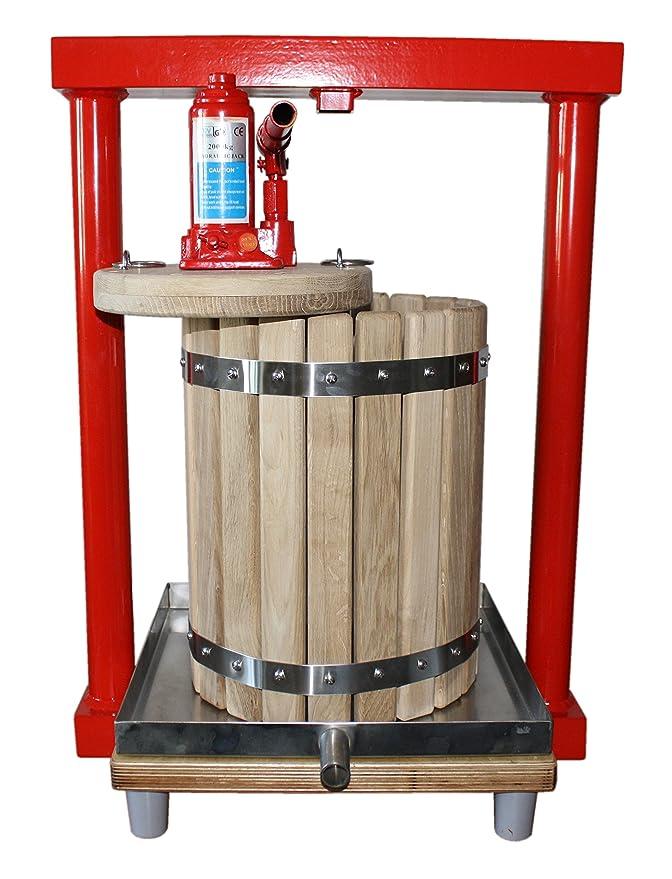 Prensa hidráulica GBP-12 - exprimidor para diseño de manzanas, uvas, de bayas, frutas, de vino, sidra: Amazon.es: Hogar