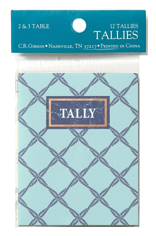 2 pc Gibson Nautical Tally Bridge Card Game 2.75 W x 3.5 H C.R