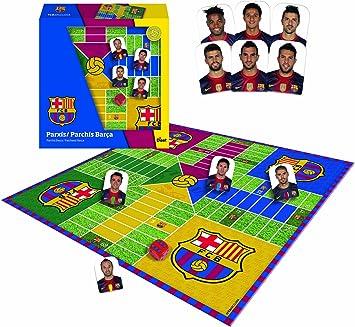 Diset 46904 - Parchís Jugadores F.C. Barcelona Liga BBVA 12-13: Amazon.es: Juguetes y juegos