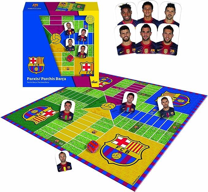 Diset 46904 - Parchís Jugadores F.C. Barcelona Liga BBVA 12-13 ...