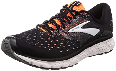 ab264179d54 Brooks Men s Glycerin 16 Black Orange Grey 7 D US