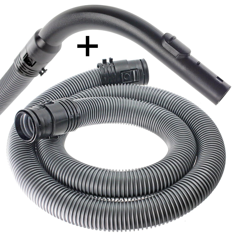 38/mm, Plata Spares2go 1,7/m tubo manguera para Miele S2110/S2111/compacto S2180/S2181/aspiradora