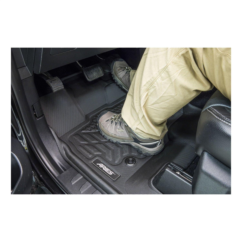 ARIES TY16311809 StyleGuard XD Black Custom Truck Floor Liners Toyota Highlander 1st Row Only