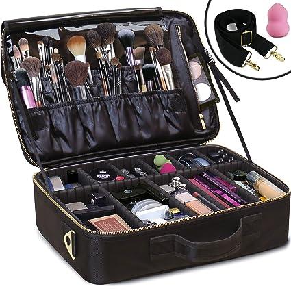 Amazon.com: Daniel Harris Bolsa de maquillaje/bolsa de ...