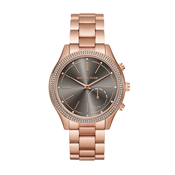 Michael Kors Access Hybrid Rose Gold Slim Runway Smartwatch ...