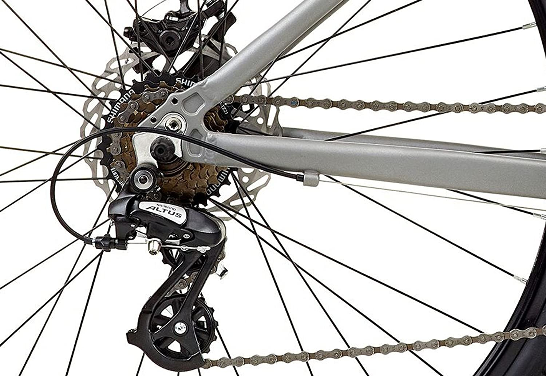 Viking Urban S 2019 Hybrid Bike Bicycle Aluminium 21 Speed Disc Brake 700c Grey