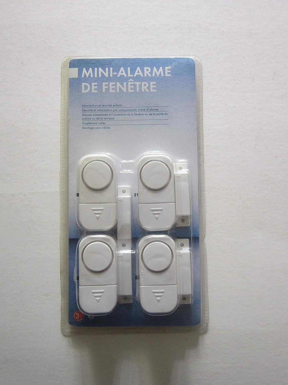 dexaplan Mini ventana alarma FA602/ /Pack de 4
