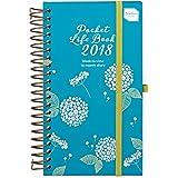 2018 Agenda Boxclever Press. Mon petit organiseur de vie. Petit agenda de poche, Organiseur Une Page Par Semaine (s'étend d'aujourd'hui à décembre 2018) ANGLAIS
