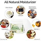 Lumalyte Skin Care Lotion - All Natural Moisturizer with Shea Butter and Electrolytes - Magnesium and Calcium and Potassium Plus Vitamin E and Coconut Oil - Nourishes for Smooth Soft and Healthy Skin