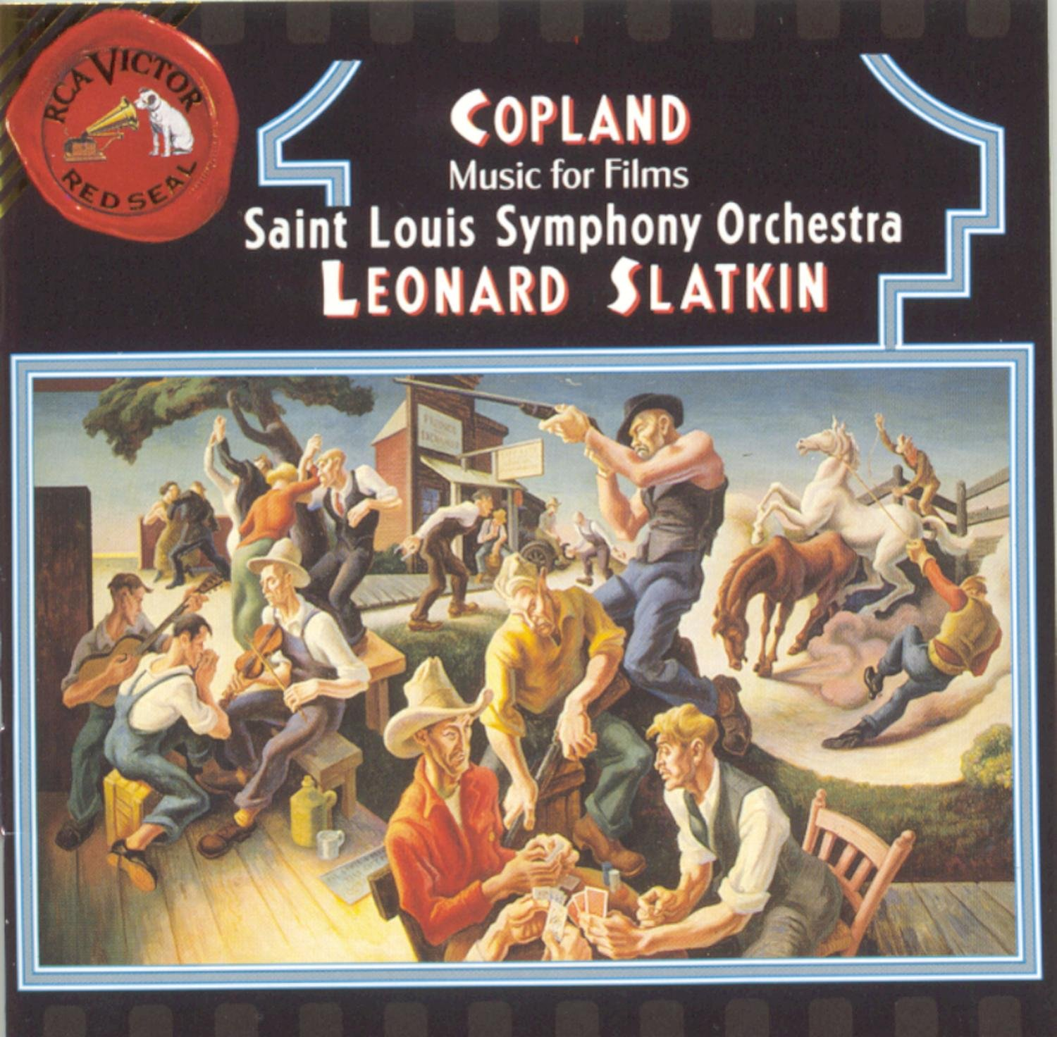 Image result for copland leonard slatkin amazon
