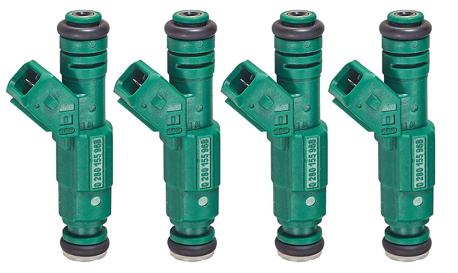 Pack of 8 Fuel Injector for 1985-2008 Chevrolet Pontiac Ford Mustang Lightning BMW Lotus Esprit 0280155968 440cc 42 lb//hr 1.8T Turbo 2.3L