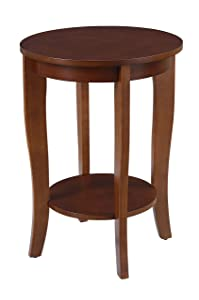 Convenience Concepts American Heritage Accent End Table, Mahogany
