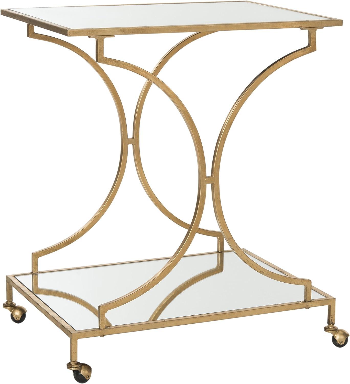 Safavieh Home Collection Ignatius Gold Bar Cart