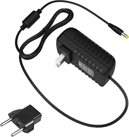MyVolts 9V DC power cable compatible with Boss RC-300 Effects pedal UK plug