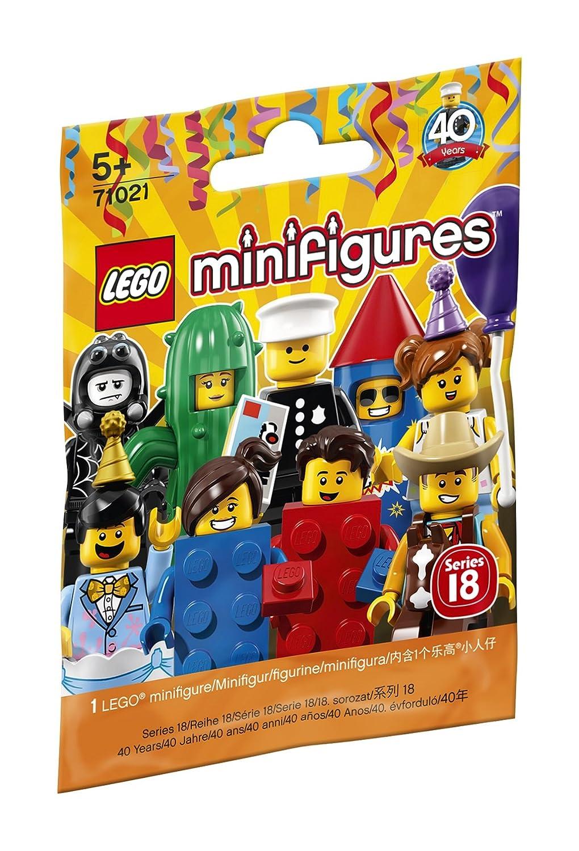 LEGO Minifiguren Serie 18: Party 71021 lustige Sammelfiguren LEGO®