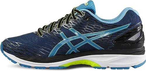Asics Gel-Nimbus 18, Zapatillas de running de competición para hombre, azul marino, 48,5: Amazon.es: Deportes y aire libre