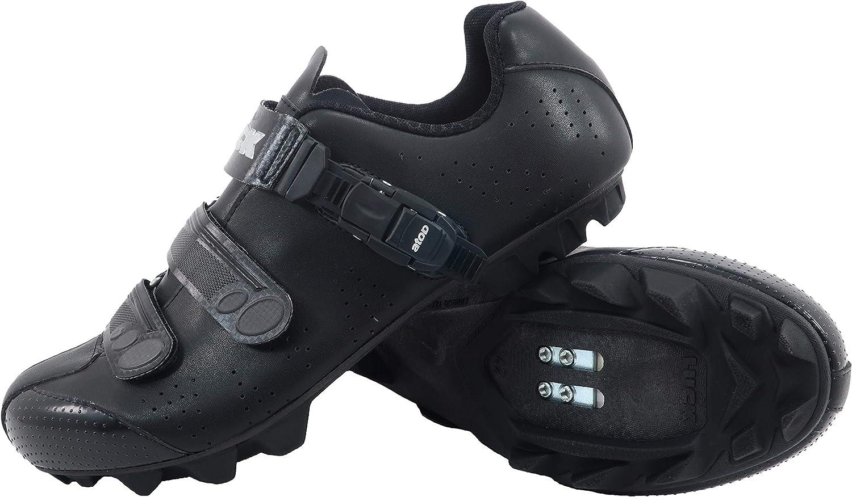 LUCK Zapatillas de Ciclismo MTB ODÍN con Suela de Carbono y Cierre milimétrico de precisión.: Amazon.es: Deportes y aire libre