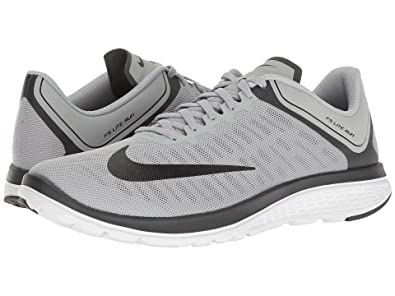 Nike FS Lite Run 4 Wolf Grey/Black/Anthracite/White Mens Running Shoes