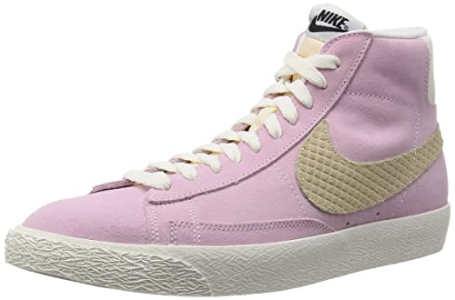 many fashionable buying cheap free delivery Nike Blazer Mid Prm Sneakers, Rosa (Prism Pink/Sand Dune ...