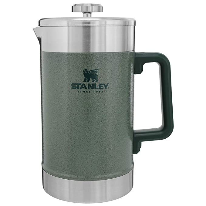 Amazon.com: Stanley Classic Stay HOT French Press HAMMERTONE ...