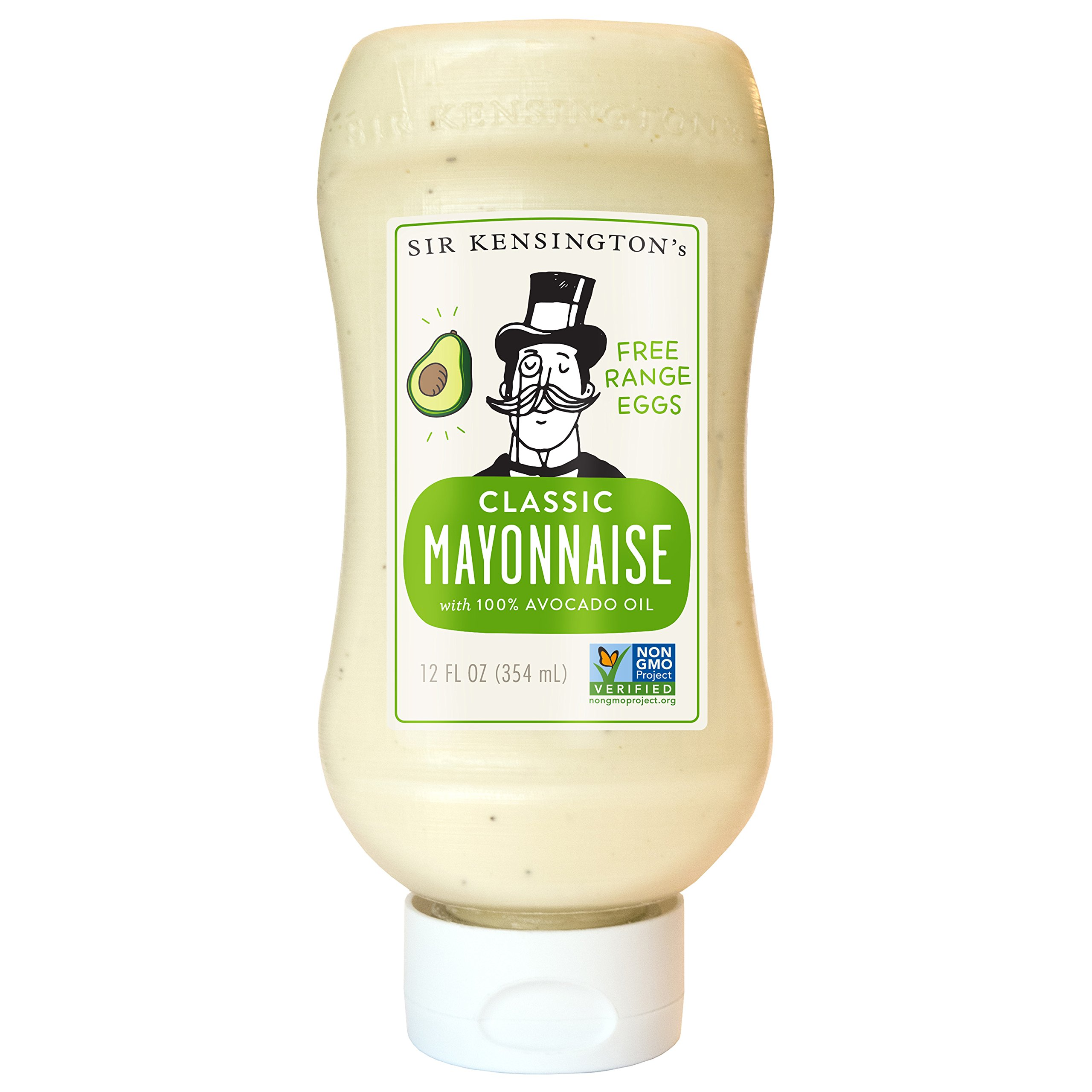 Sir Kensington's Mayonnaise Avocado Oil, 12 oz by Sir Kensington's