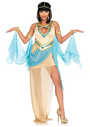 Leg Avenue Womenu0027s 3 Pc Sexy Cleopatra Costume Gold SML/MED  sc 1 st  Amazon.com & Amazon.com: Leg Avenue Womens 3 Pc Sexy Gold Cleopatra Costume: Clothing